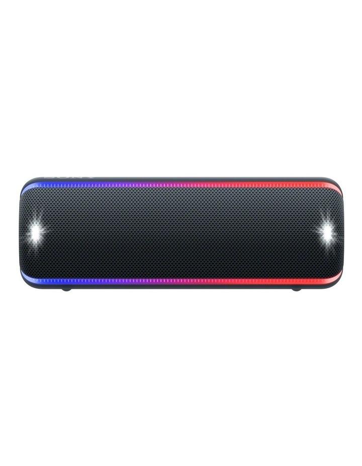 Extra Bass Portable Bluetooth Speaker Black XB32B image 1
