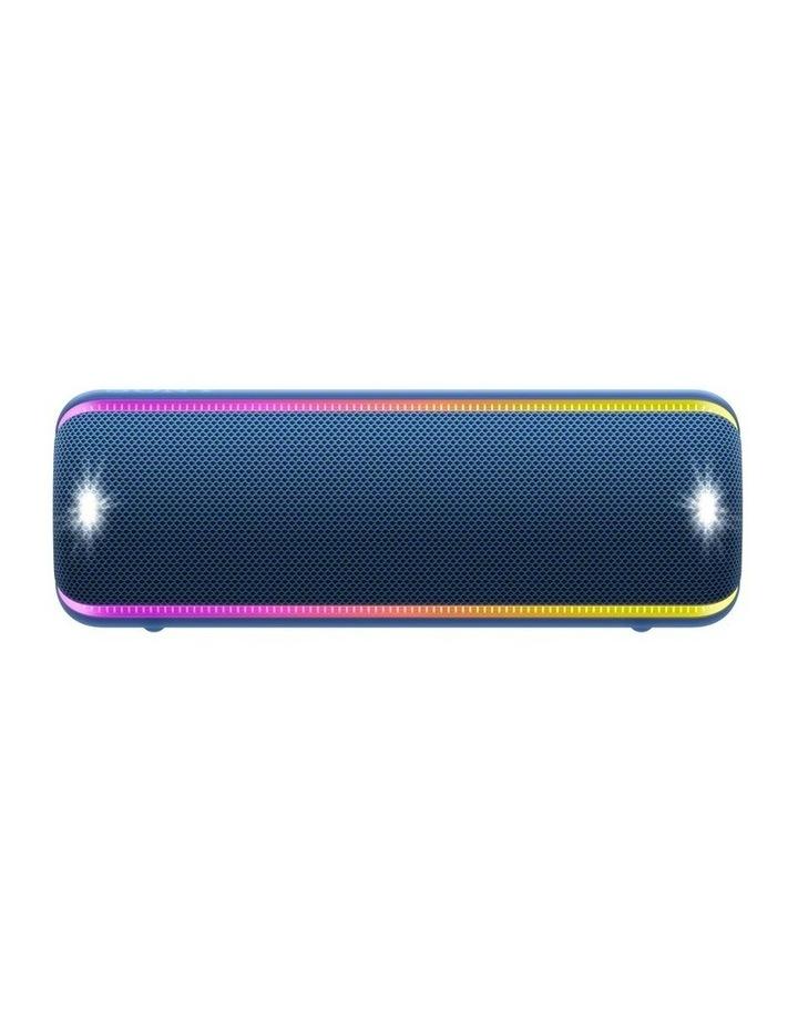 Extra Bass Portable Bluetooth Speaker Blue SRSXB32L image 1