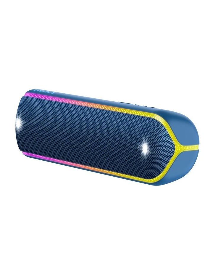 Extra Bass Portable Bluetooth Speaker Blue SRSXB32L image 2