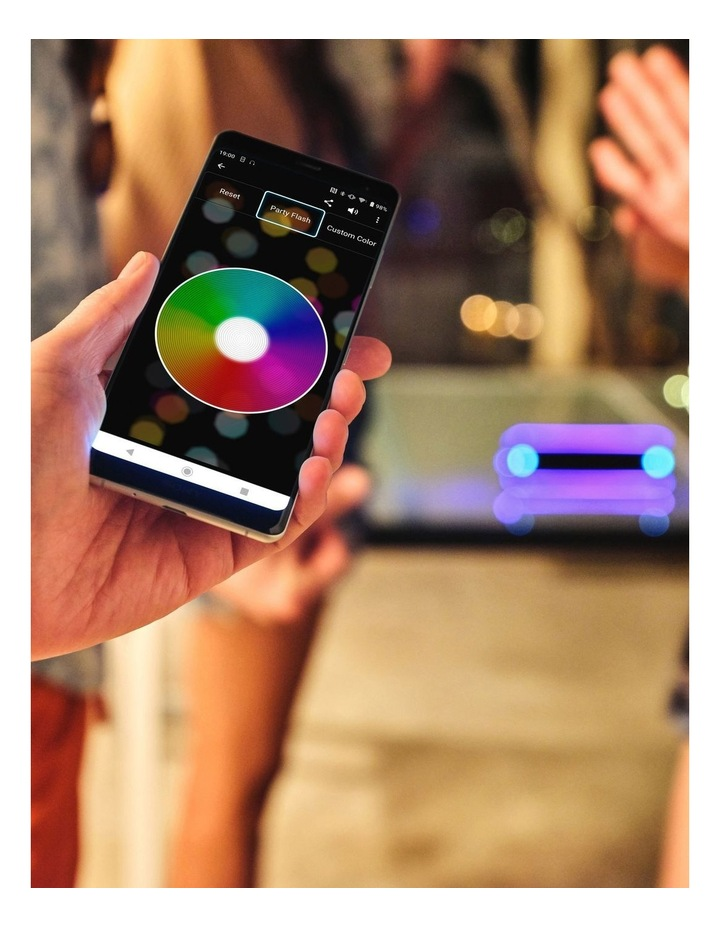 Extra Bass Portable Bluetooth Speaker Grey SRSXB32H image 7