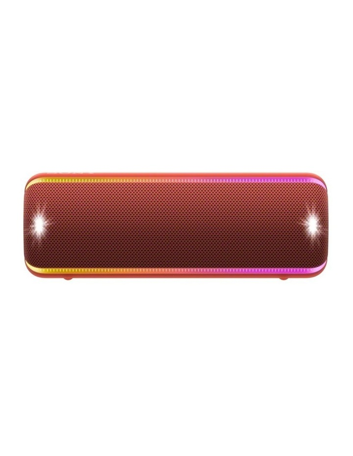 Extra Bass Portable Bluetooth Speaker Red SRSXB32R image 1