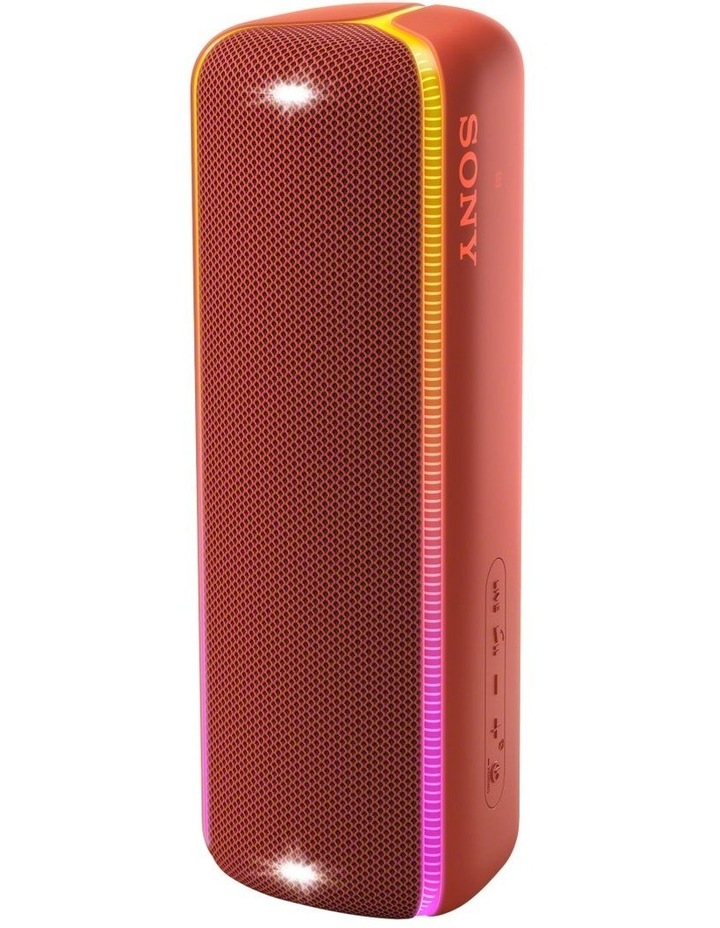 Extra Bass Portable Bluetooth Speaker Red SRSXB32R image 4