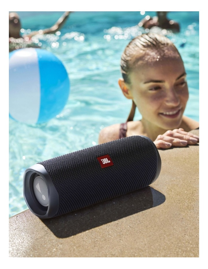 Flip 5 Portable Bluetooth Speaker Black image 5