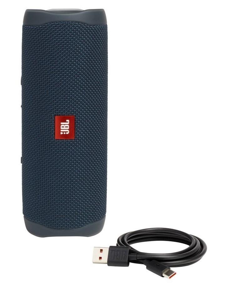 Flip 5 Portable Bluetooth Speaker Blue image 4
