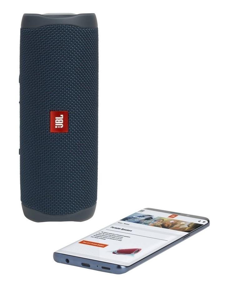 Flip 5 Portable Bluetooth Speaker Blue image 5