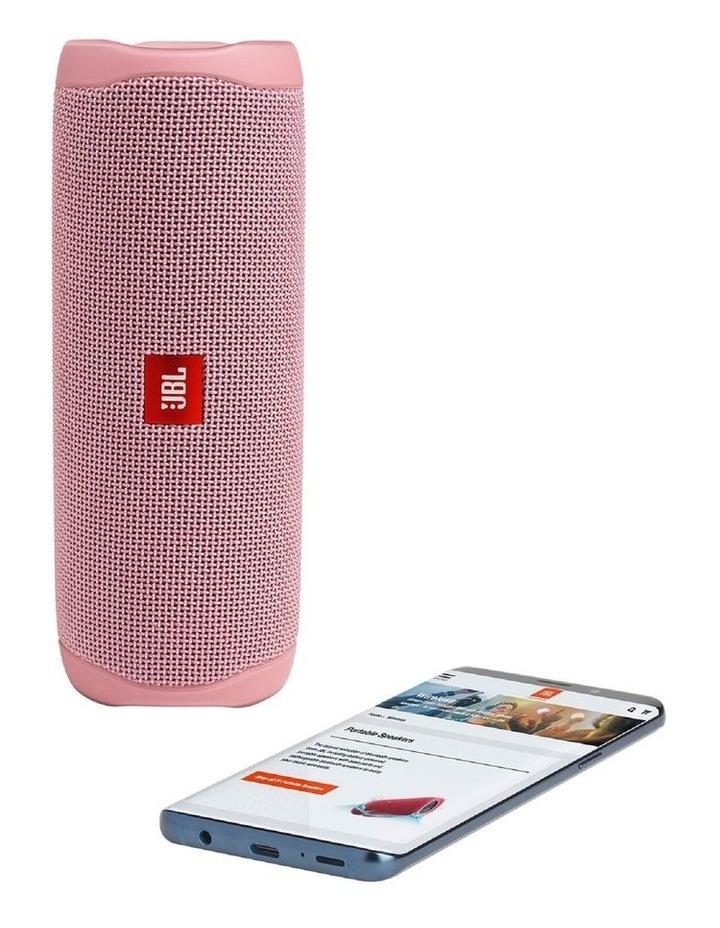 Flip 5 Portable Bluetooth Speaker Pink image 4