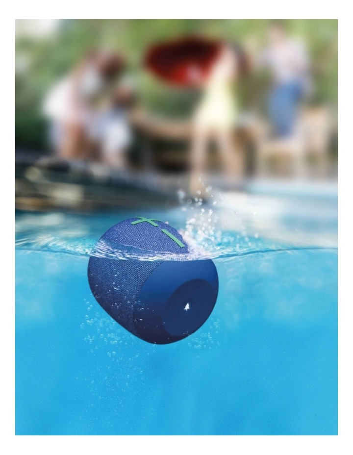 Wonderboom 2 Portable Bluetooth Speaker - Bermuda Blue image 5