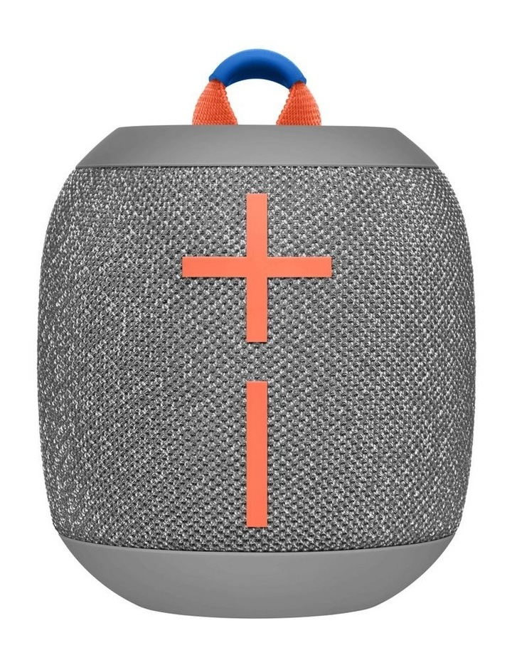 Wonderboom 2 Portable Bluetooth Speaker - Crushed Ice Grey image 1