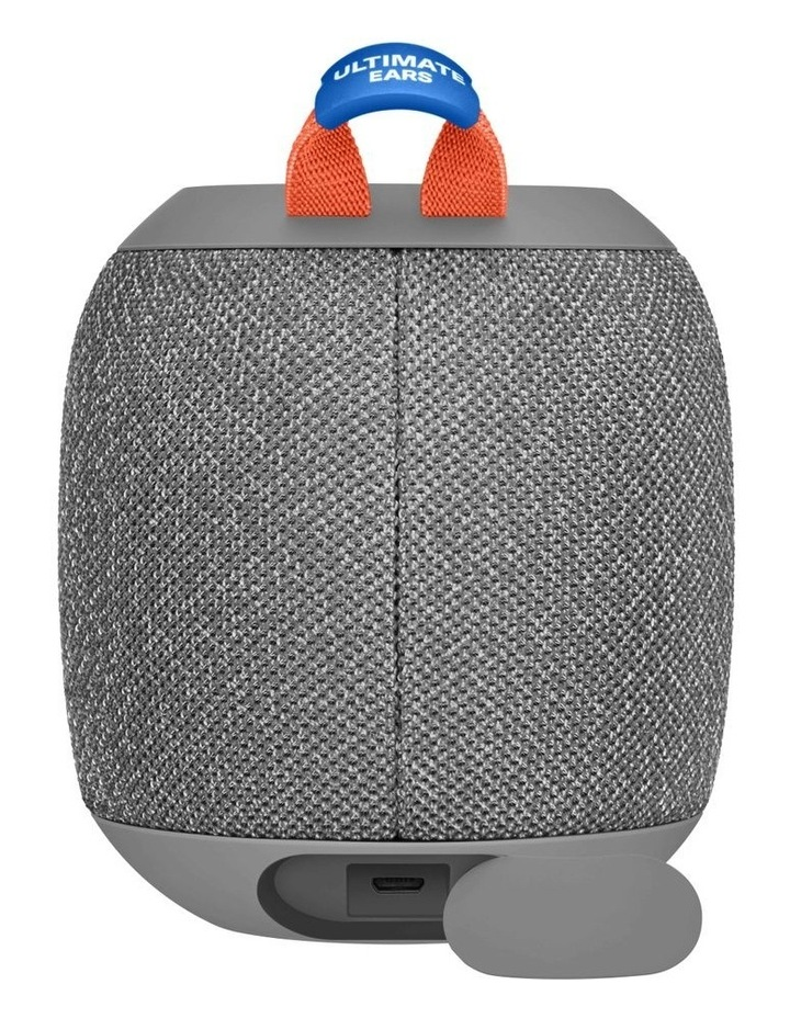 Wonderboom 2 Portable Bluetooth Speaker - Crushed Ice Grey image 2