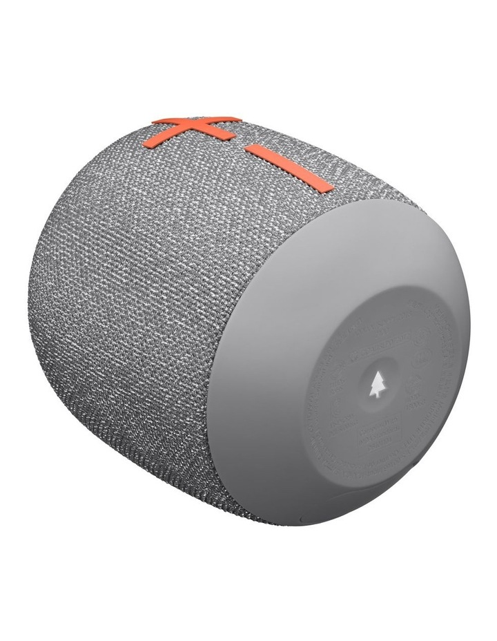 Wonderboom 2 Portable Bluetooth Speaker - Crushed Ice Grey image 4