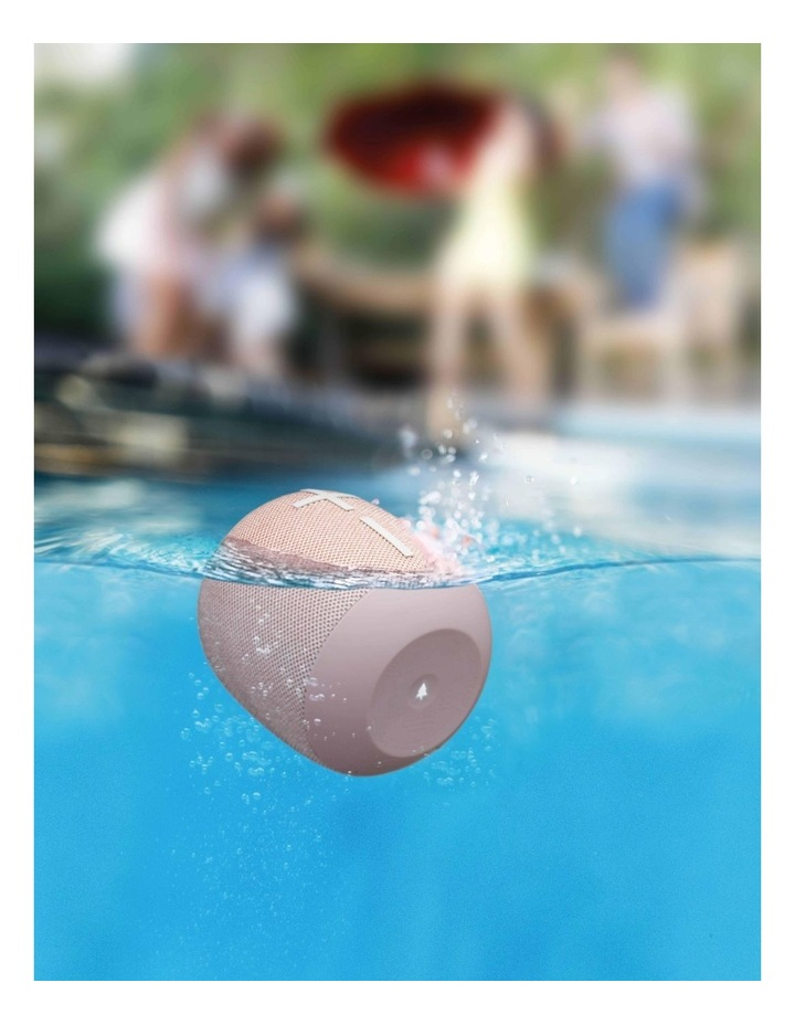 Wonderboom 2 Portable Bluetooth Speaker - Just Peach image 5