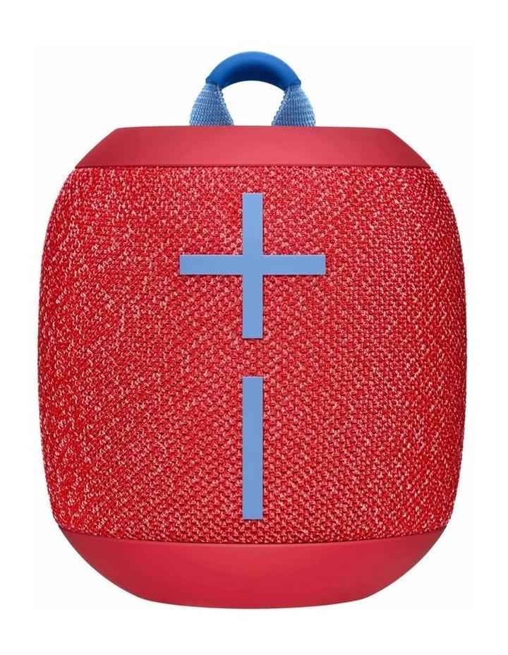 Wonderboom 2 Portable Bluetooth Speaker - Radical Red image 1