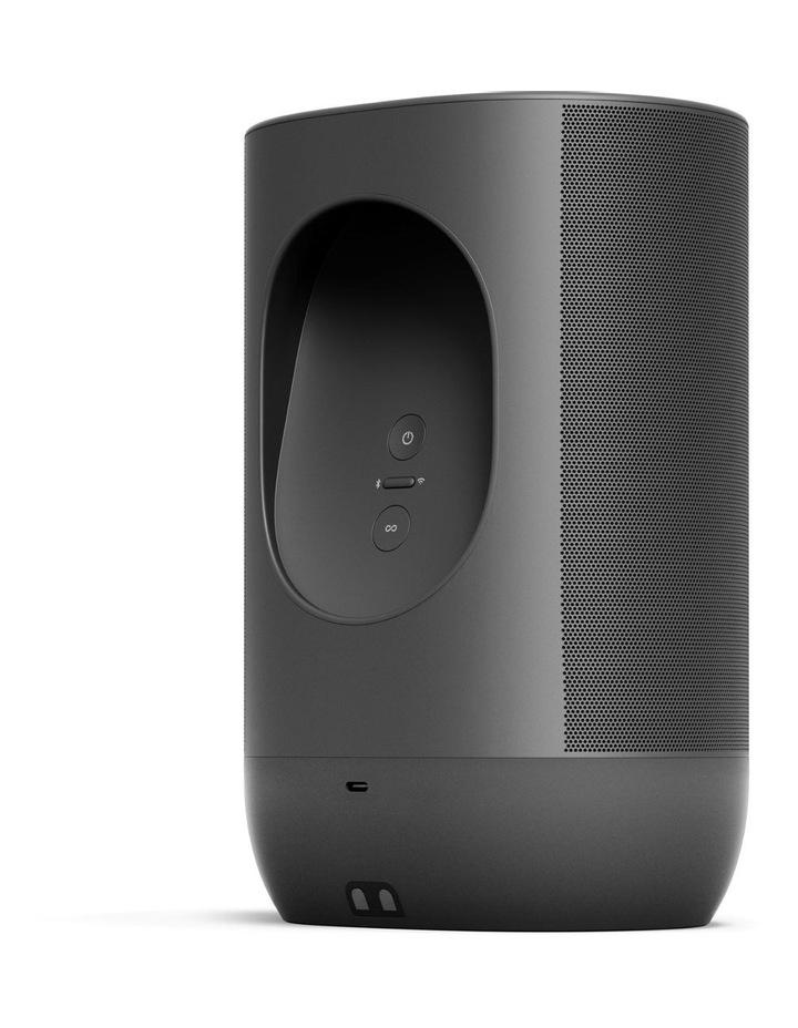 Move Portable Bluetooth & Wi-Fi Smart Speaker Black image 2