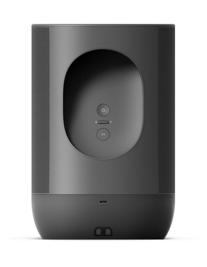 Move Portable Bluetooth & Wi-Fi Smart Speaker Black image 3