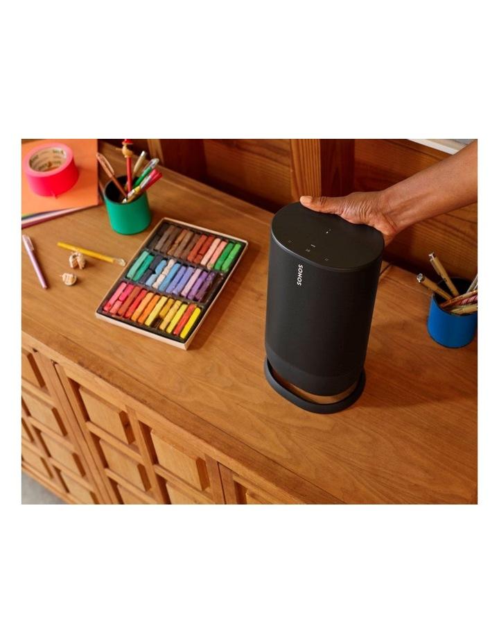 Move Portable Bluetooth & Wi-Fi Smart Speaker Black image 6