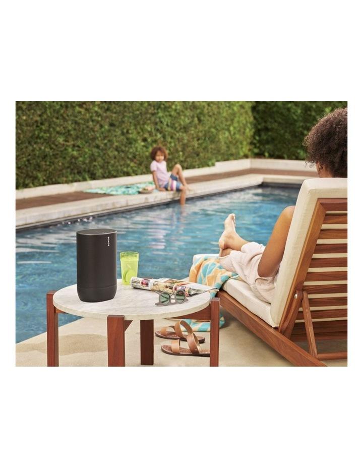 Move Portable Bluetooth & Wi-Fi Smart Speaker Black image 7