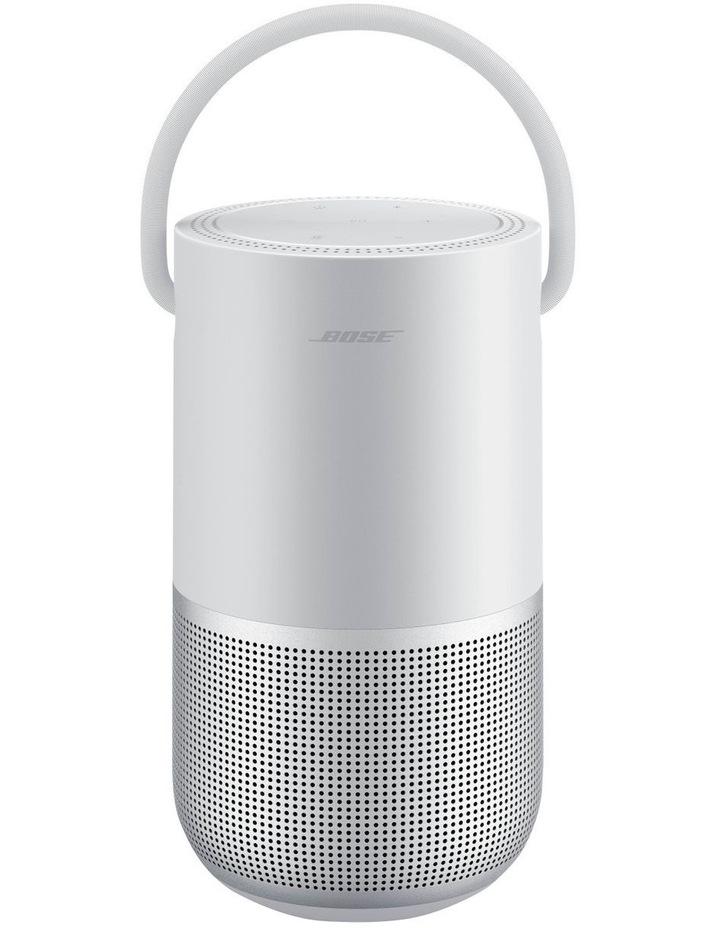 Luxe Silver Portable Smart Speaker image 1