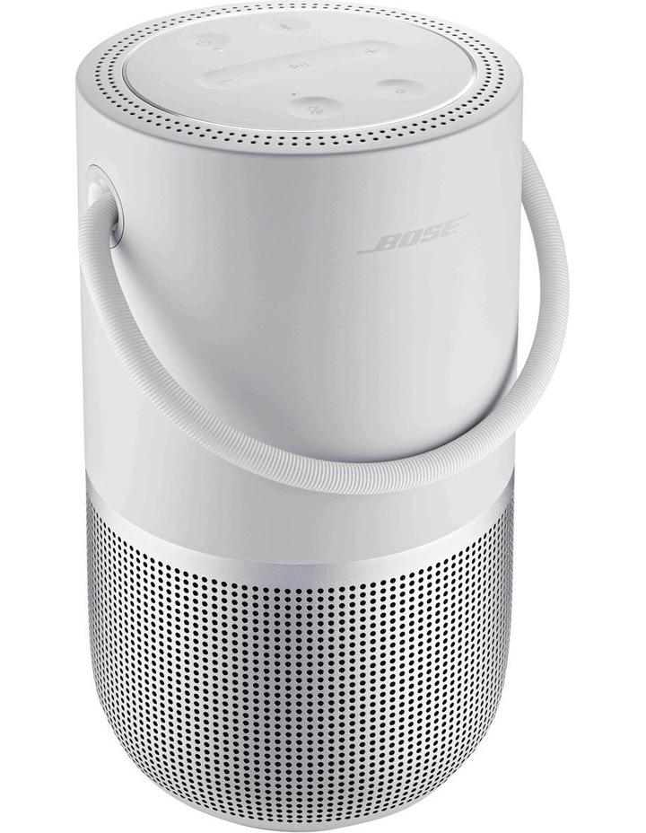 Luxe Silver Portable Smart Speaker image 2