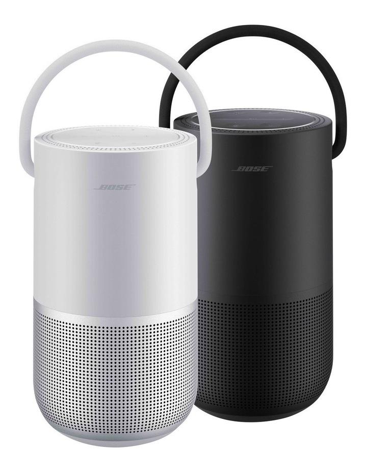 Luxe Silver Portable Smart Speaker image 4