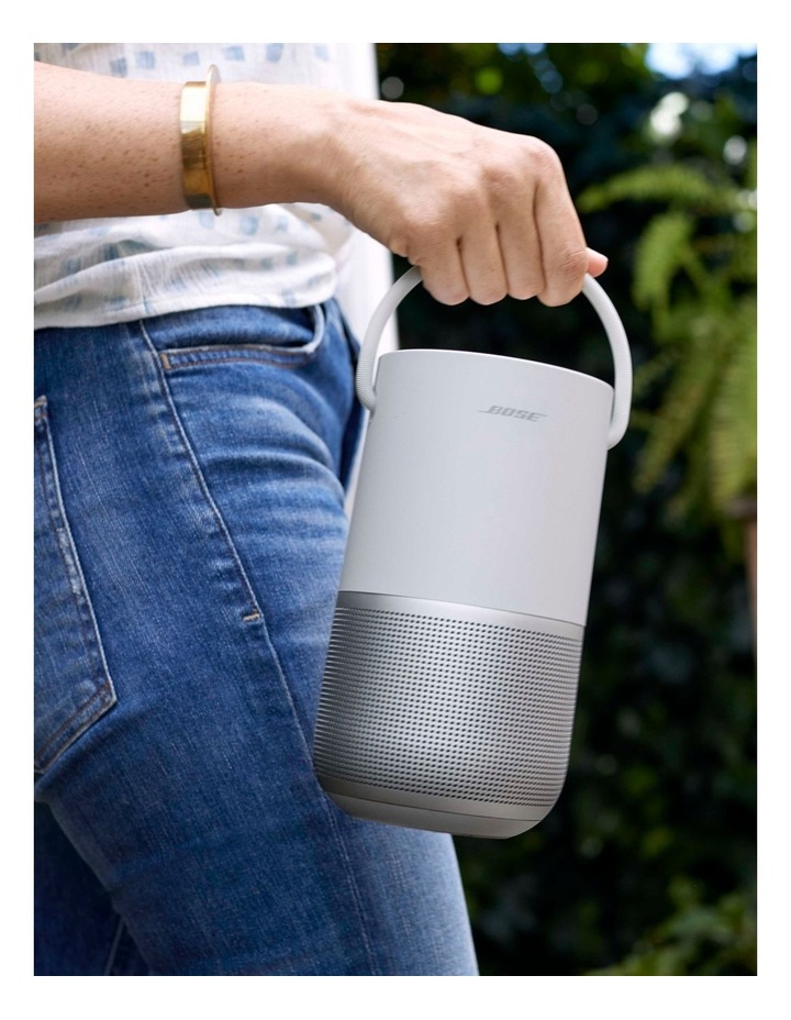 Portable Home Speaker Luxe Silver image 3