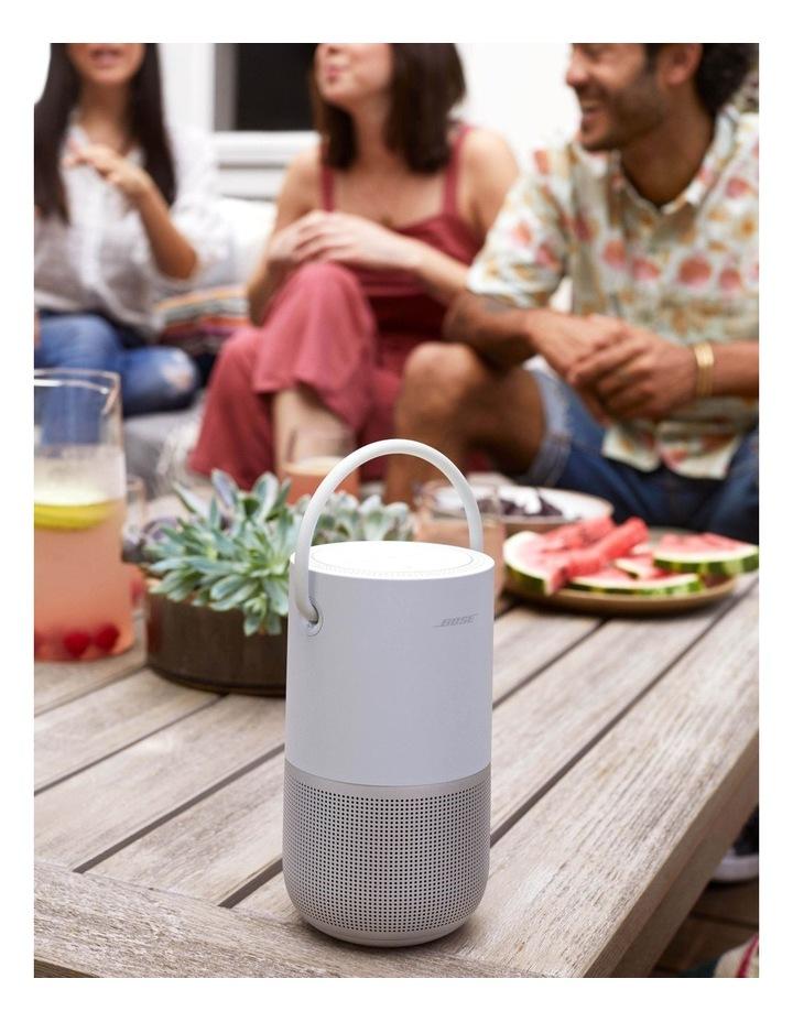 Luxe Silver Portable Smart Speaker image 6