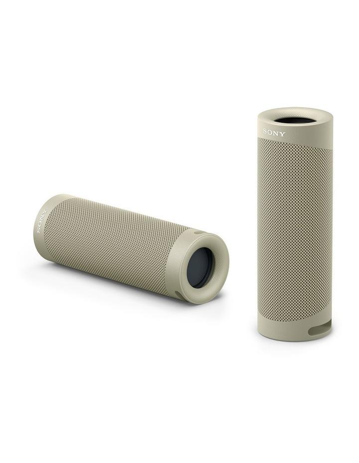 Sony ExtraBass Taupe Wireless Speaker SRSXB23C image 2