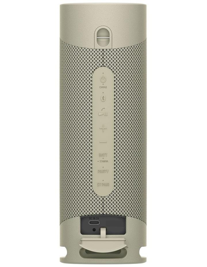 Sony ExtraBass Taupe Wireless Speaker SRSXB23C image 4