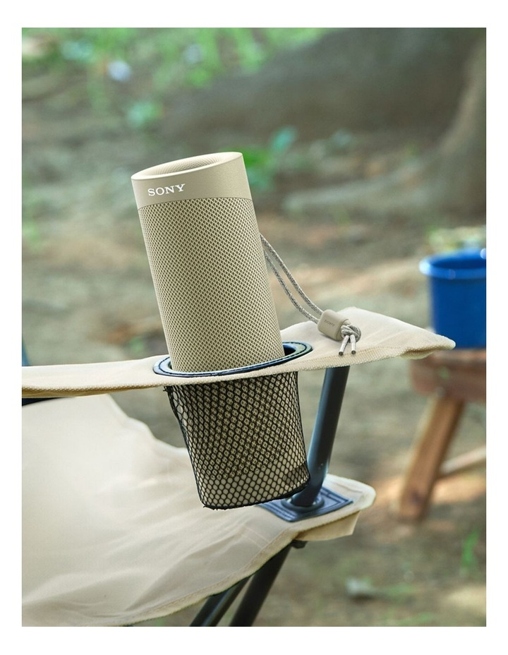 Sony ExtraBass Taupe Wireless Speaker SRSXB23C image 5