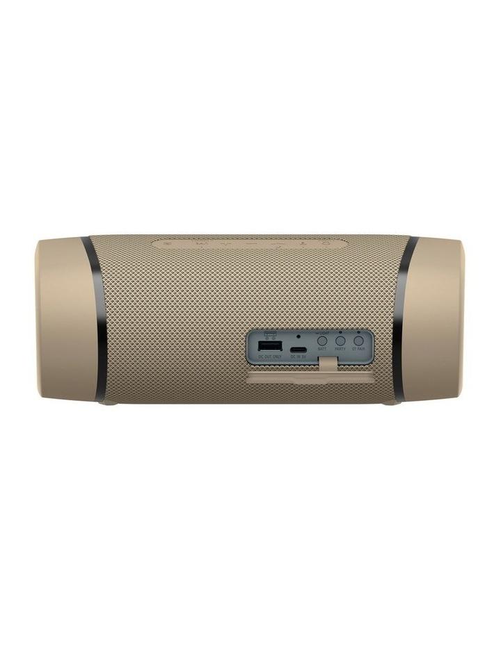 Sony ExtraBass Taupe Wireless Speaker SRSXB33C image 5