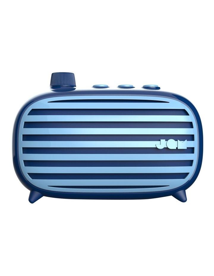 Classic Retro Bluetooth Cordless Speaker Blue image 1