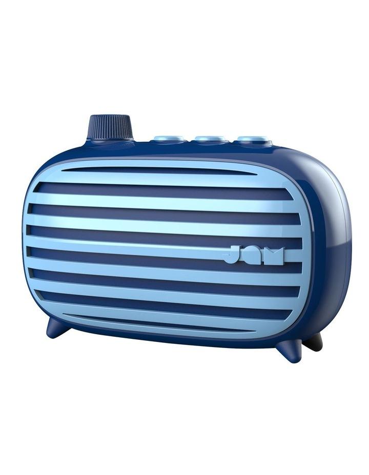 Classic Retro Bluetooth Cordless Speaker Blue image 2