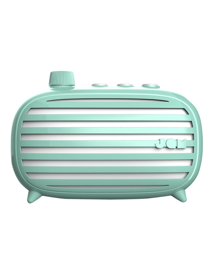 Classic Retro Bluetooth Cordless Speaker Mint image 1