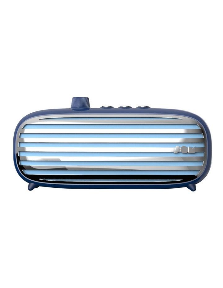 Classic + Retro Bluetooth Cordless Speaker Blue image 1