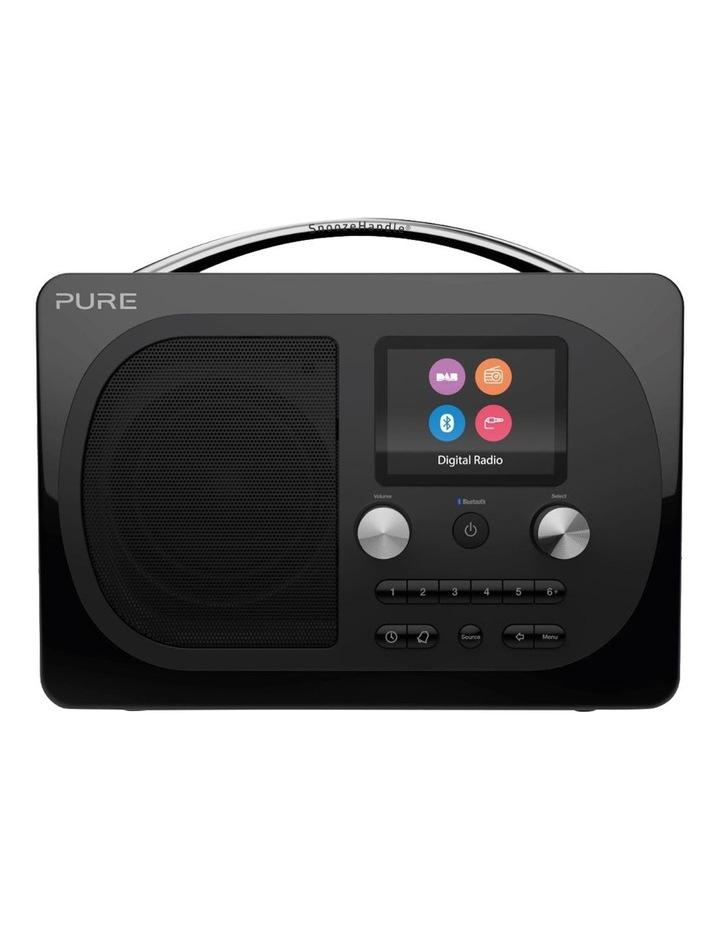 Evoke H4 Portable DAB/DAB  and FM radio with Bluetooth and full colour display - Black image 1