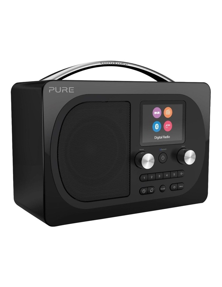 Evoke H4 Portable DAB/DAB  and FM radio with Bluetooth and full colour display - Black image 2