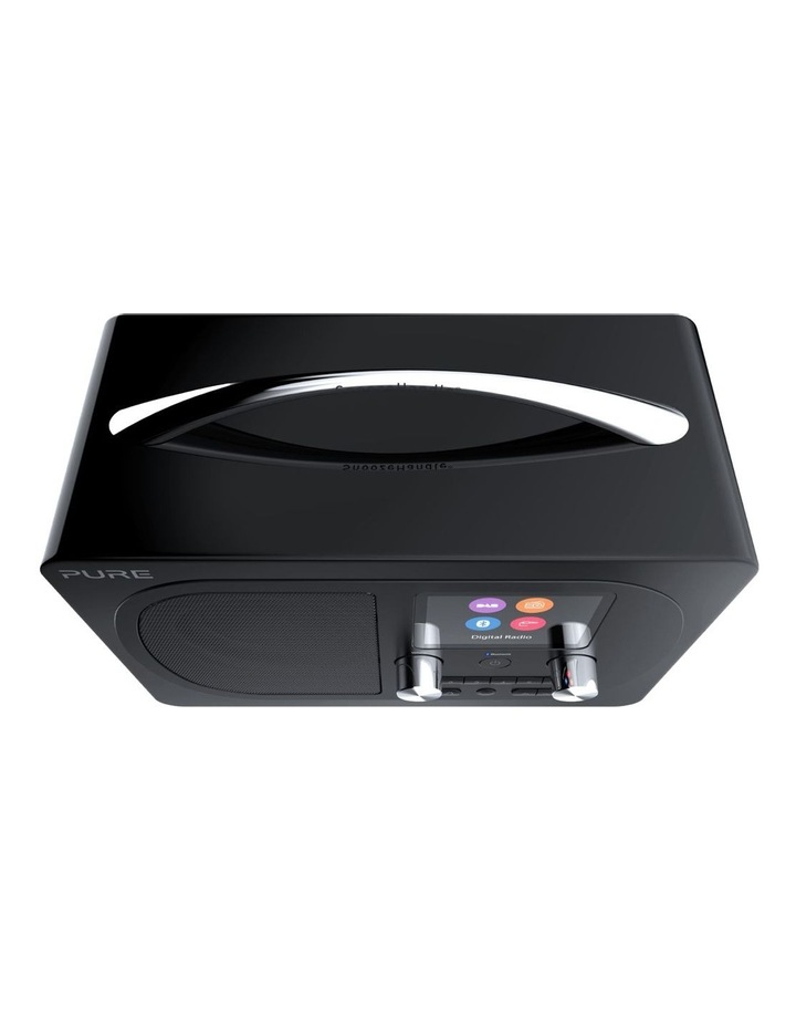 Evoke H4 Portable DAB/DAB  and FM radio with Bluetooth and full colour display - Black image 3