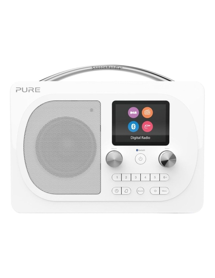 Evoke H4 Portable DAB/DAB  and FM radio, with Bluetooth and full colour display - White image 1