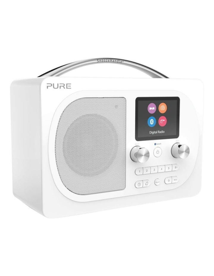 Evoke H4 Portable DAB/DAB  and FM radio, with Bluetooth and full colour display - White image 2