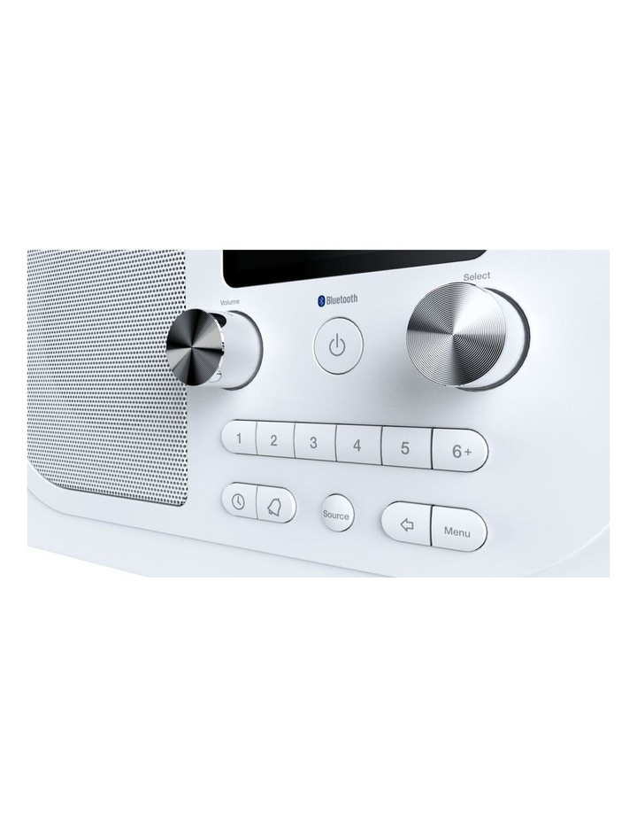 Evoke H4 Portable DAB/DAB  and FM radio, with Bluetooth and full colour display - White image 3