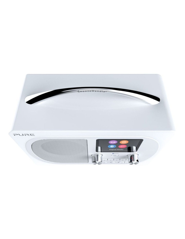 Evoke H4 Portable DAB/DAB  and FM radio, with Bluetooth and full colour display - White image 4