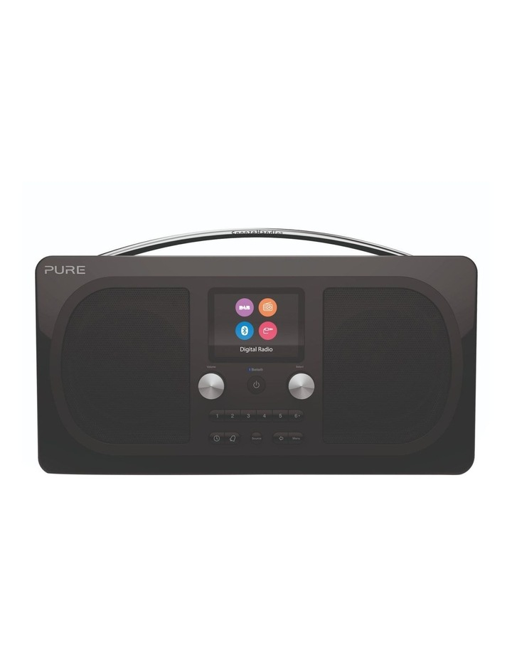 Evoke H6 Stereo DAB/DAB  and FM radio, with Bluetooth and full colour display - Black image 1