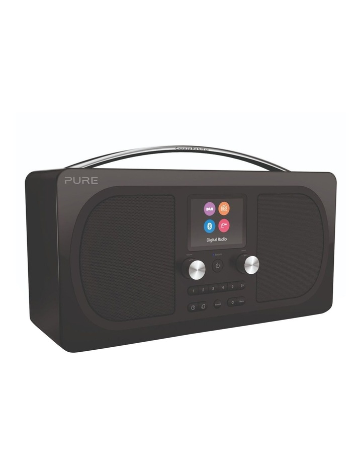 Evoke H6 Stereo DAB/DAB  and FM radio, with Bluetooth and full colour display - Black image 2
