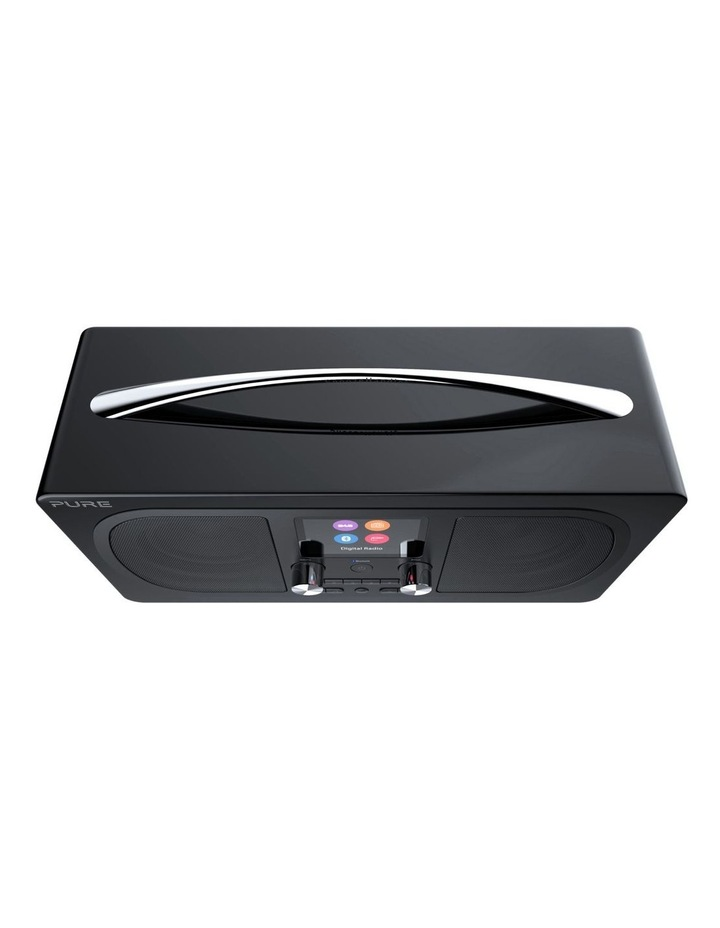 Evoke H6 Stereo DAB/DAB  and FM radio, with Bluetooth and full colour display - Black image 3