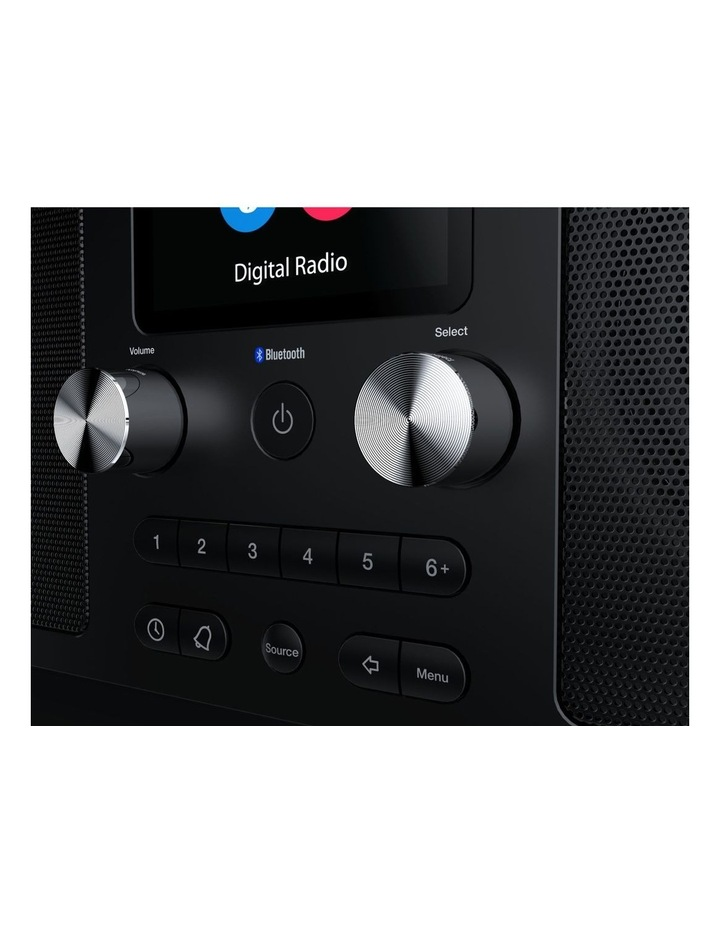 Evoke H6 Stereo DAB/DAB  and FM radio, with Bluetooth and full colour display - Black image 4