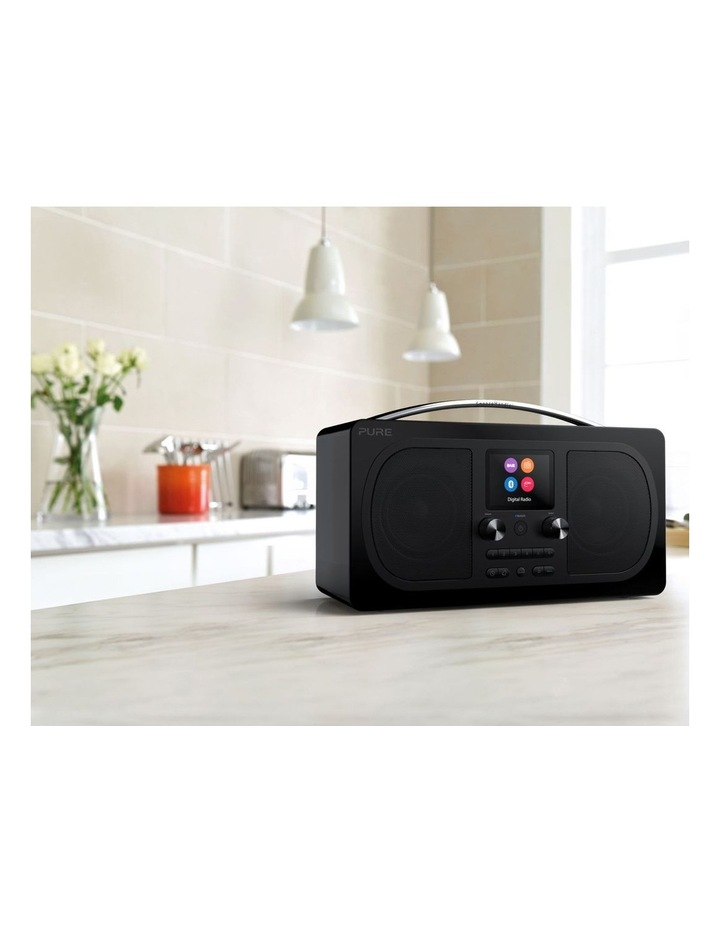 Evoke H6 Stereo DAB/DAB  and FM radio, with Bluetooth and full colour display - Black image 5