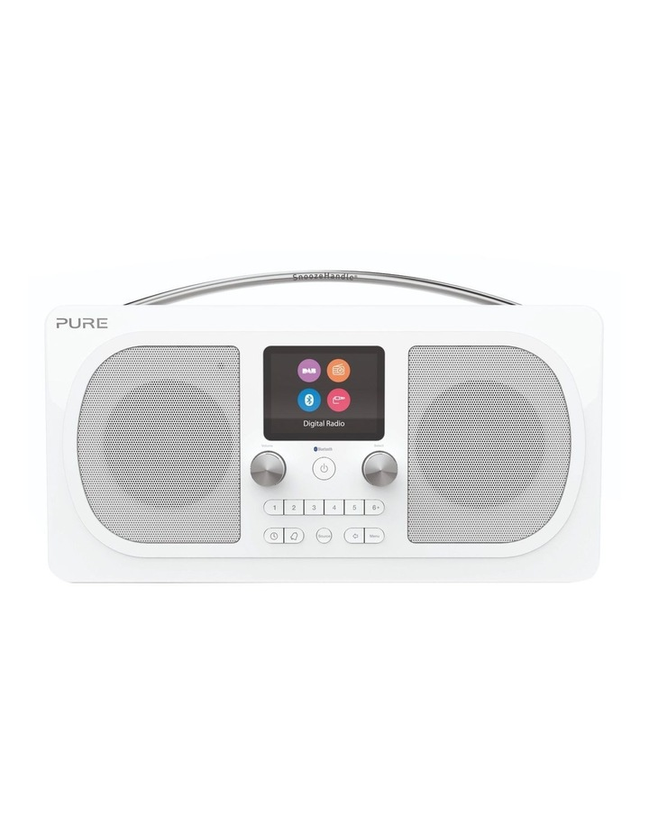 Evoke H6 Stereo DAB/DAB  and FM radio, with Bluetooth and full colour display - White image 1
