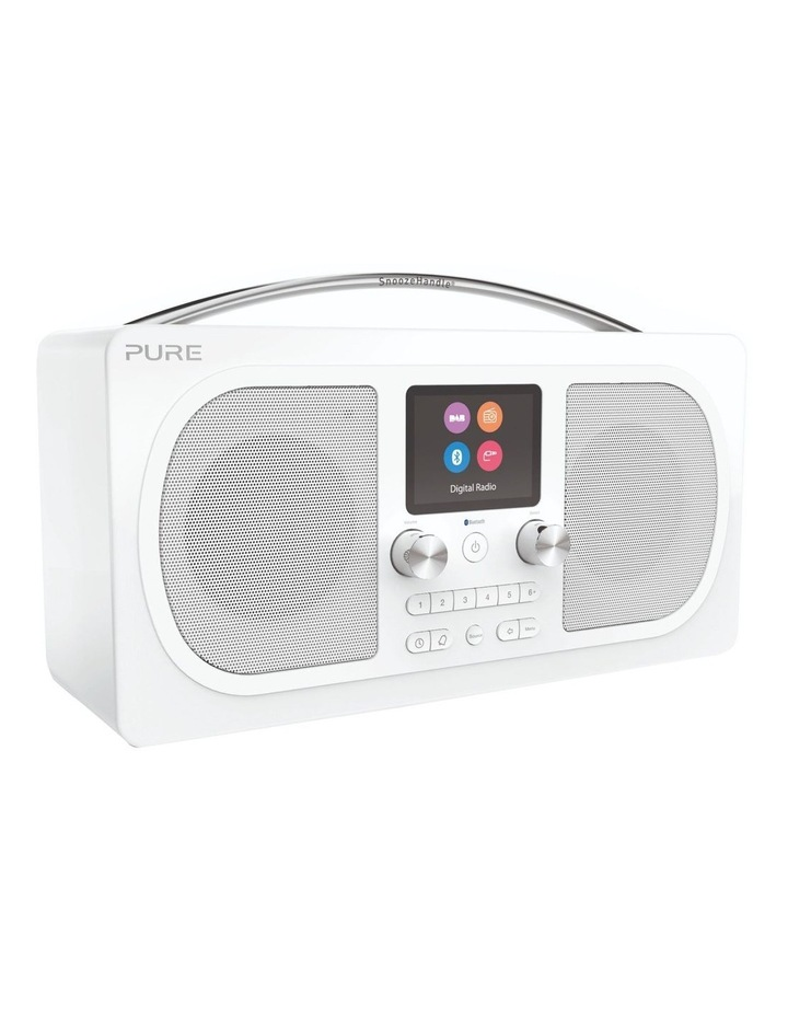 Evoke H6 Stereo DAB/DAB  and FM radio, with Bluetooth and full colour display - White image 2