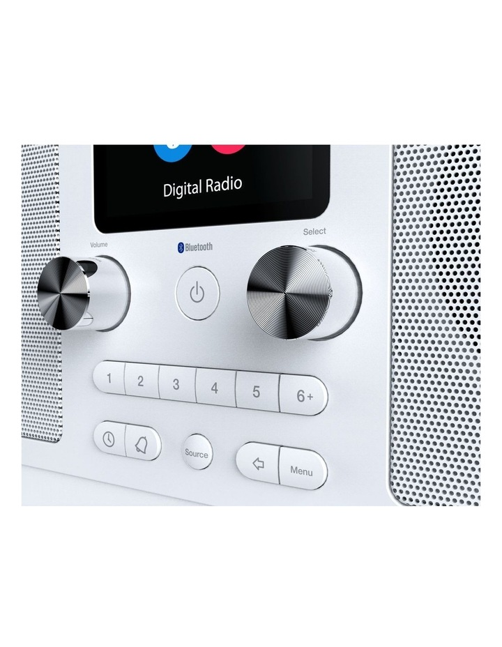 Evoke H6 Stereo DAB/DAB  and FM radio, with Bluetooth and full colour display - White image 4