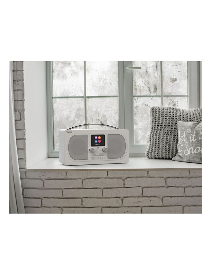 Evoke H6 Stereo DAB/DAB  and FM radio, with Bluetooth and full colour display - White image 5