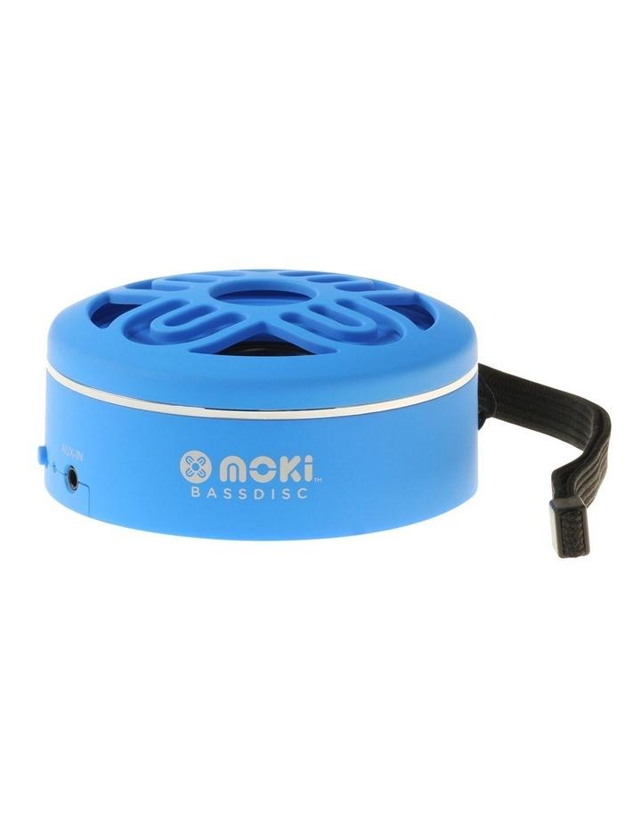 BassDisc Bluetooth Speaker - Blue image 1